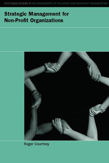 Strategic Management for Nonprofit Organizations book cover