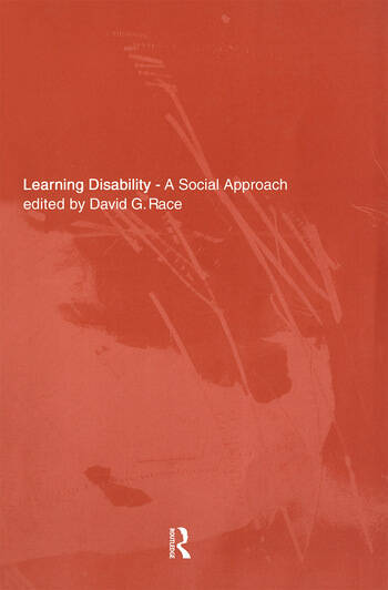 Learning Disability A Social approach book cover