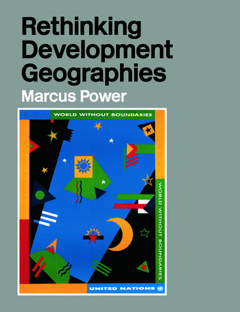 Rethinking Development Geographies book cover