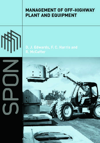 Management of Off-Highway Plant and Equipment book cover