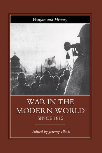 War in the Modern World since 1815 book cover