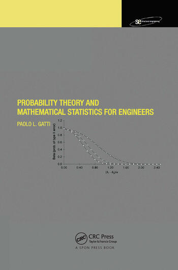 Probability Theory and Mathematical Statistics for Engineers book cover