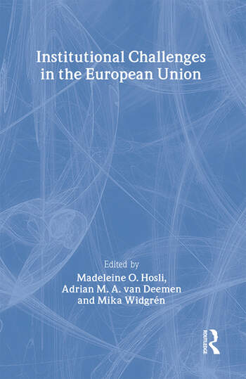 Institutional Challenges in the European Union book cover