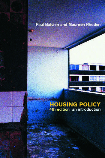 Housing Policy An Introduction book cover