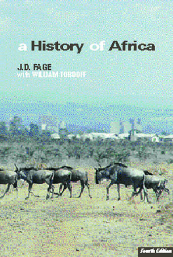 A History of Africa book cover