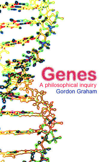 Genes: A Philosophical Inquiry book cover