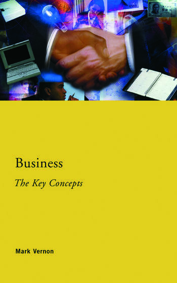 Business: The Key Concepts book cover