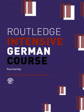 Routledge Intensive German Course book cover