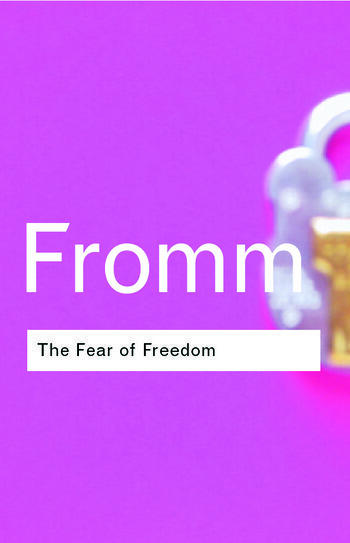 The Fear of Freedom book cover