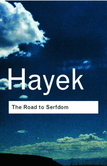 The Road to Serfdom book cover