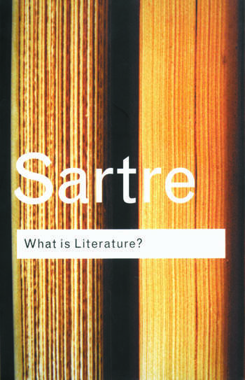 What is Literature? book cover