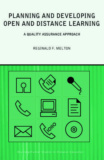 Planning and Developing Open and Distance Learning A Framework for Quality book cover