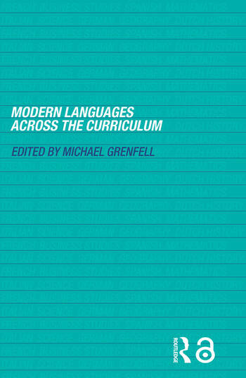 Modern Languages Across the Curriculum book cover