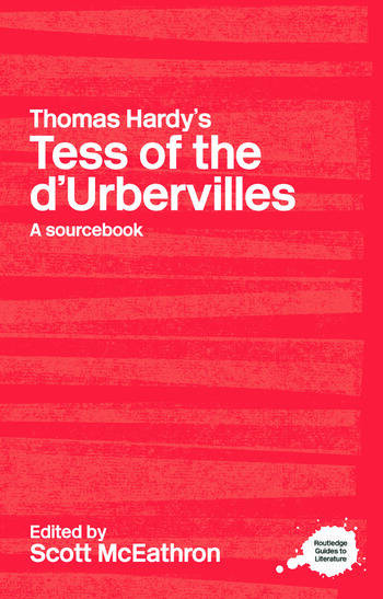 Thomas Hardy's Tess of the d'Urbervilles A Routledge Study Guide and Sourcebook book cover