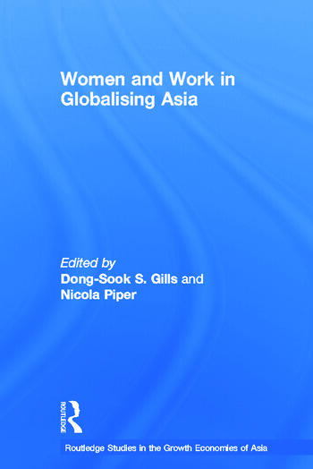 Women and Work in Globalizing Asia book cover