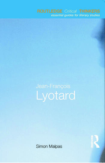 Jean-François Lyotard book cover