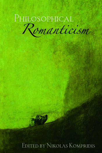 Philosophical Romanticism book cover