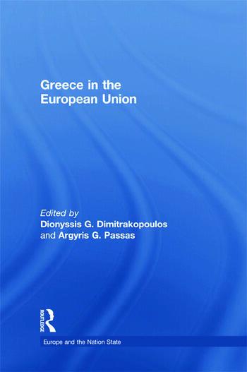 Greece in the European Union book cover