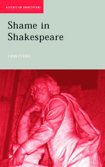 Shame in Shakespeare book cover