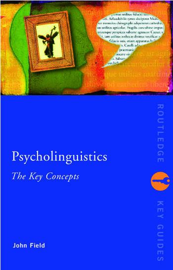 Psycholinguistics: The Key Concepts book cover