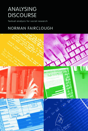 Analysing Discourse Textual Analysis for Social Research book cover