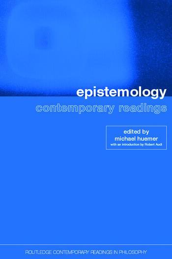 Epistemology: Contemporary Readings book cover