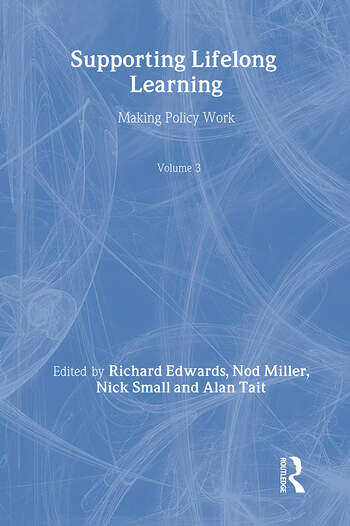 Supporting Lifelong Learning Volume III: Making Policy Work book cover
