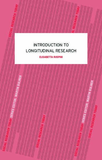 An Introduction to Longitudinal Research book cover