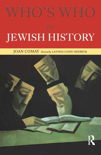 Who's Who in Jewish History book cover