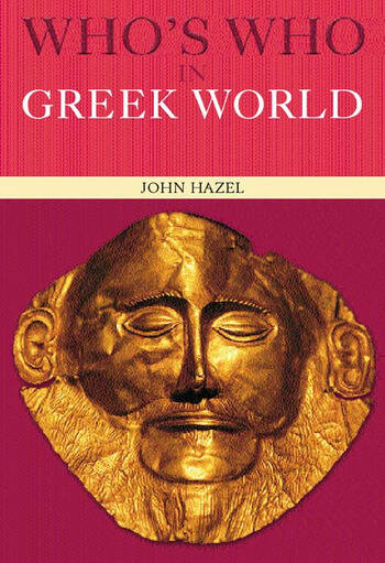 Who's Who in the Greek World book cover