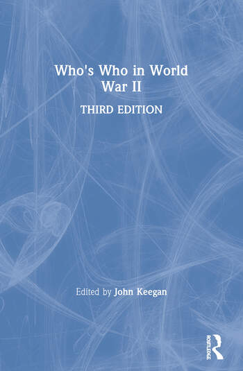 Who's Who in World War II book cover