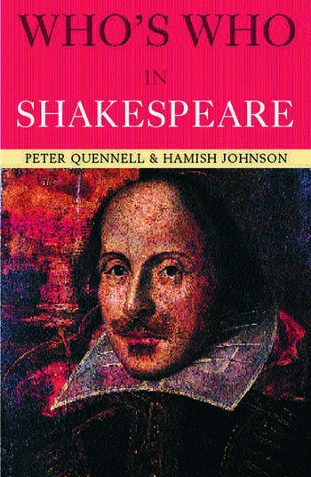 Who's Who in Shakespeare book cover