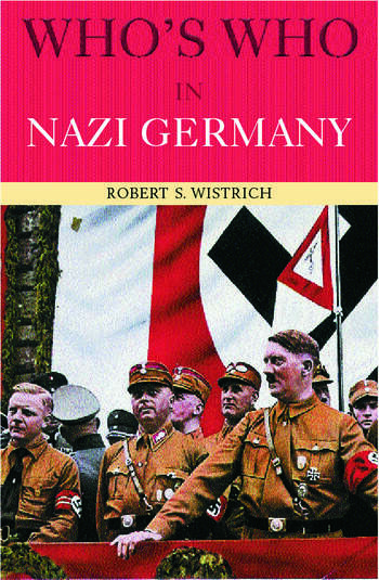 Who's Who in Nazi Germany book cover