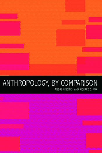 Anthropology, by Comparison book cover