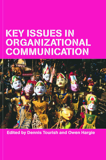 Key Issues in Organizational Communication book cover