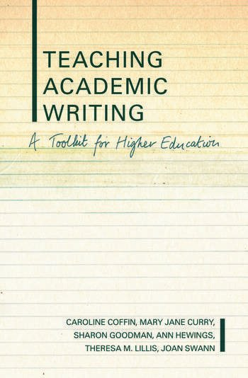 Teaching Academic Writing A Toolkit for Higher Education book cover