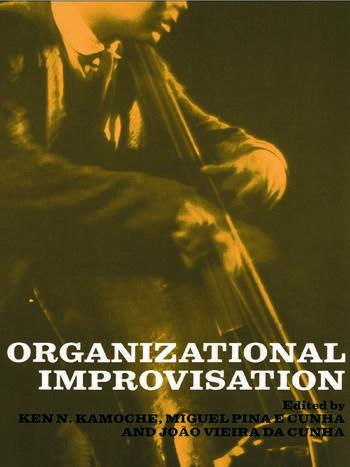 Organizational Improvisation book cover