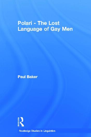 Polari - The Lost Language of Gay Men book cover