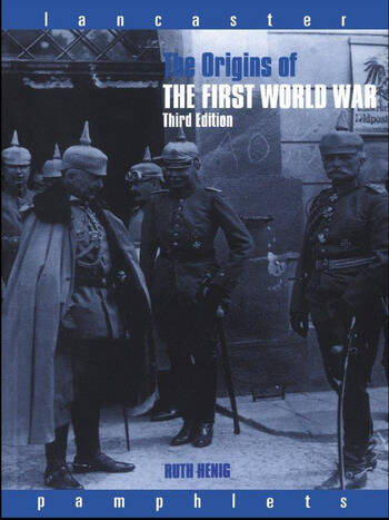 The Origins of the First World War book cover
