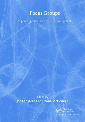Focus Groups Supporting Effective Product Development book cover