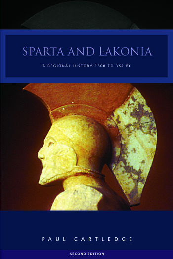 Sparta and Lakonia A Regional History 1300-362 BC book cover