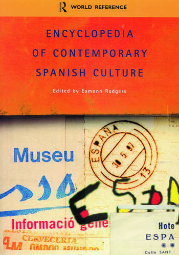 Encyclopedia of Contemporary Spanish Culture book cover
