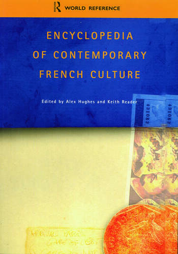 Encyclopedia of Contemporary French Culture book cover