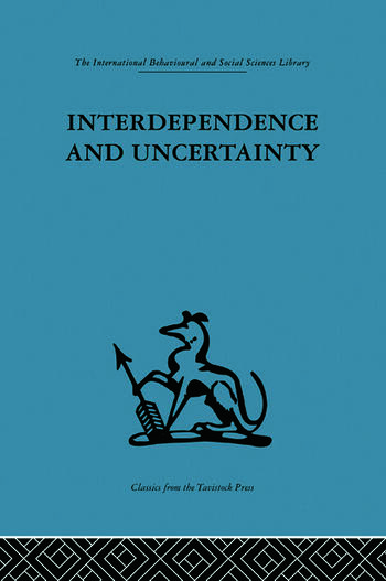 Interdependence and Uncertainty A study of the building industry book cover