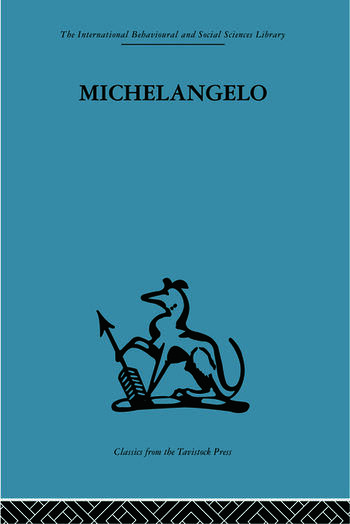 Michelangelo A study in the nature of art book cover