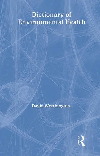 Dictionary of Environmental Health book cover