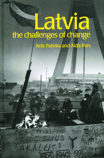 Latvia The Challenges of Change book cover
