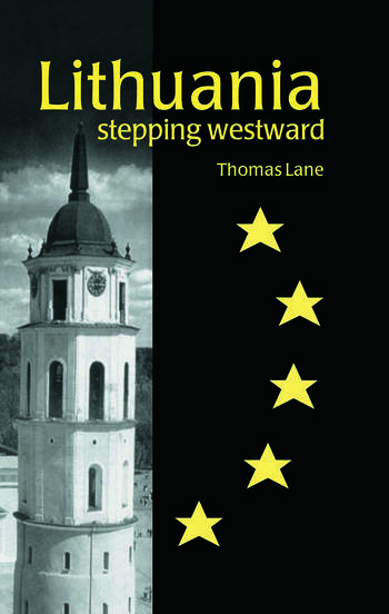 Lithuania Stepping Westward book cover