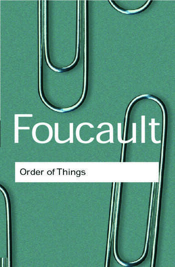 The Order of Things book cover