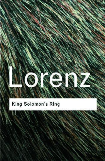 King Solomon's Ring book cover